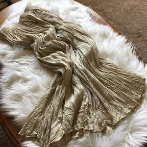 Dresses & Skirts - Boho Crinkled Skirt w/Adjustable Waist